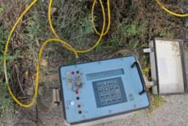 Prospección geofísica en Bolulla
