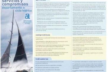 Carta de servicios y compromisos de Ciclo Hídrico