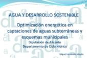 """Disponible la ponencia compartida en el seminario """"Agua y desarrollo sostenible"""""""