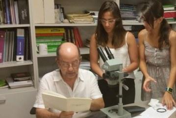 Anàlisi de mostres de material geològic