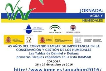 Jornadas sobre el 45 aniversario del Convenio Ramsar