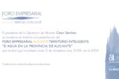 Jornada d'Aigua en la província d'Alacant
