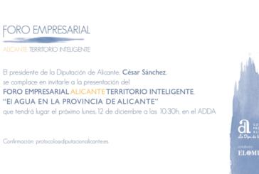 Jornada de Agua en la provincia de Alicante