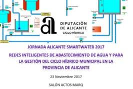 JORNADA ALICANTE SMARTWATER 2017