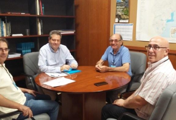 Reuniones acerca de las infraestructuras hidráulicas municipales