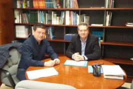 Reunió amb l'Alcalde de Benijófar