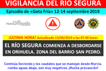 Serious problems in the Segura River