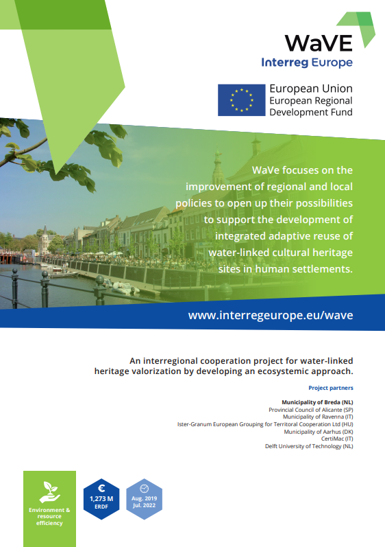 WaVE Interreg Project Official Poster