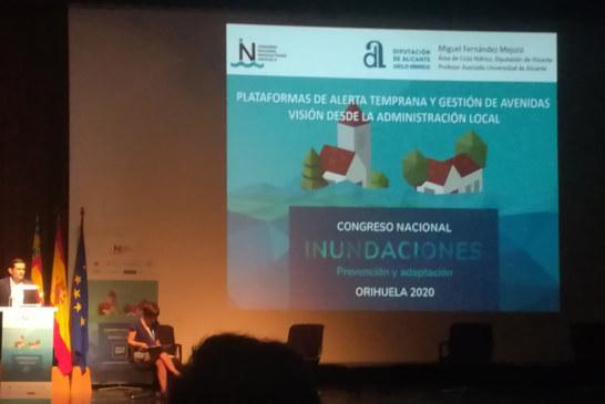 Congrés Nacional d'Inundacions. Presentació de Miguel Fernández Mejuto