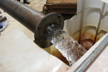 Pumping test of a new well in Biar
